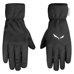 Salewa Windstopper Finger Gloves Unisex black out