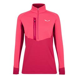 Salewa Vajolet Polarlite Responsive Half Zip Damen Fleece virtual pink