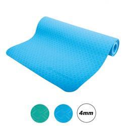 Schildkröt Fitness TPE Yoga Matte sky blue