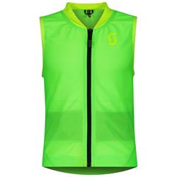 Scott Airflex Junior Vest Protector 2020 2021 high viz green