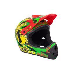 Seven 7 Protection 7iDP M1 50:01 Helmet, rasta