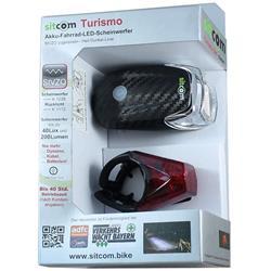 Sitcom Turismo Akku Set, Carbon