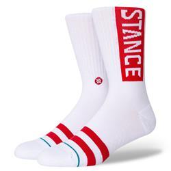 Stance Staple OG White Red