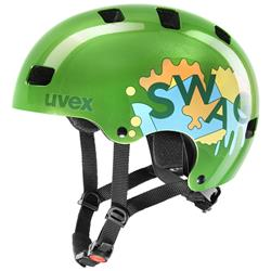 Uvex kid 3 green Kinderhelm