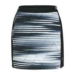 Ziener Nima Lady Skirt Active black stripe