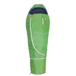 Grüezibag Biopod Wolle Kids World Traveller Schlafsack holly green