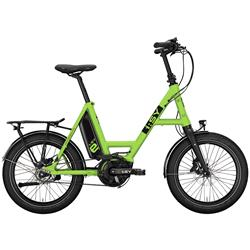 i:SY DrivE E5 ZR Kompakt E-Bike mit Zahnriehmen lightgreen