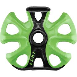 Leki Big Mountain Binding Basket, neongrün