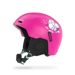 Marker Bino Kinderskihelm pink water decal - 2020/21
