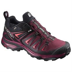 Salomon X Ultra 3 GTX Women, tawny port-black-living coral