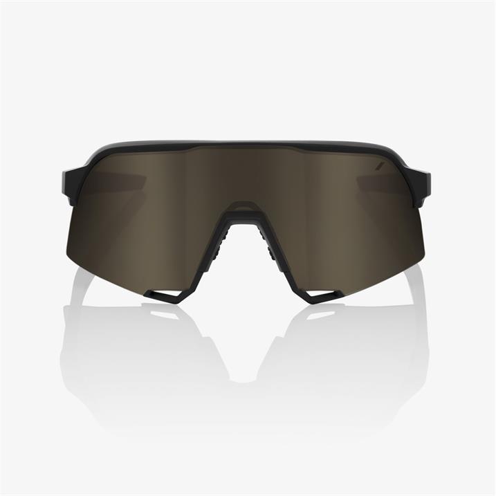 100% S3, Soft Tact Black, Soft Gold Mirror Lens