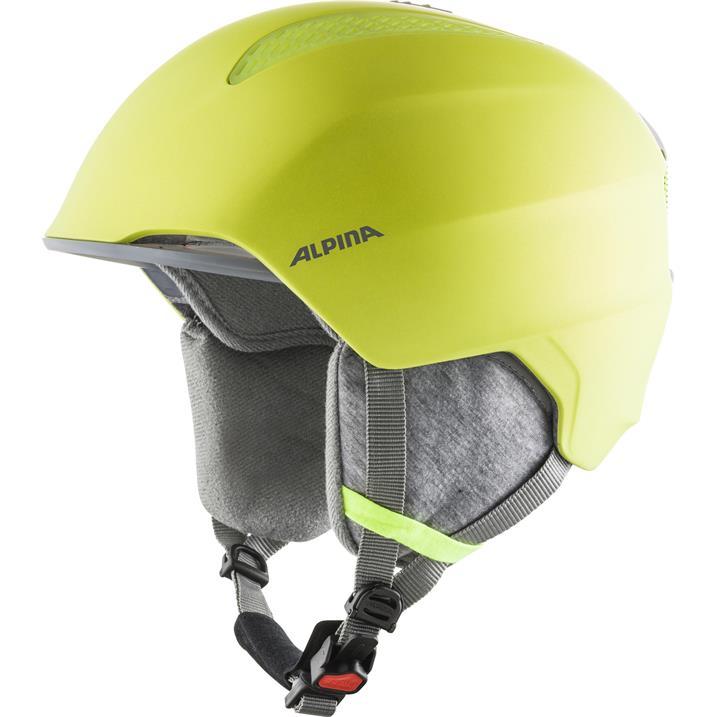 Alpina Grand Jr neon-yellow Skihelm für Kinder und Jugendliche