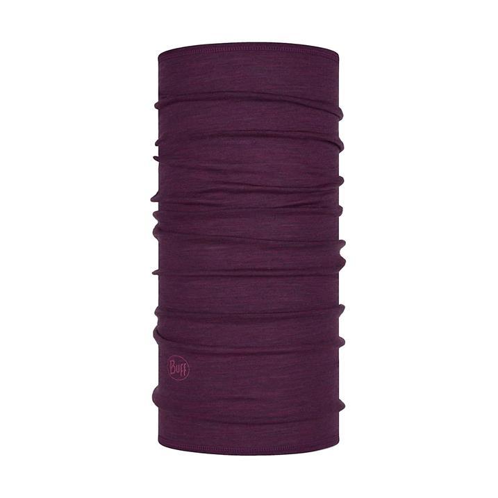 Buff Merinowolle Multifunktionstuch Lightweight Purplish Multi Stripes