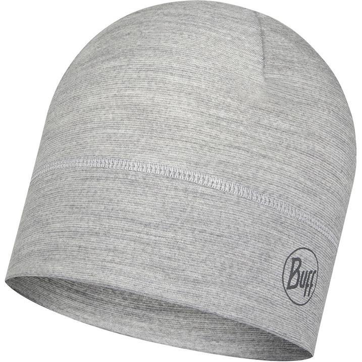 Buff Merino Wool 1 Layer Hat Birch Multi Stripes