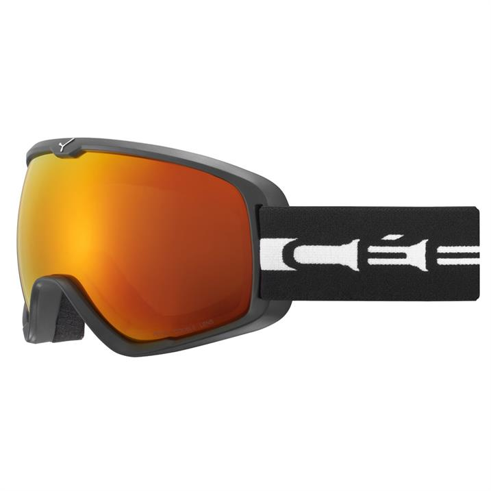 Cebe Artic L -  mat black white orange flash fire