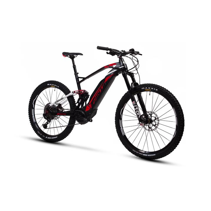 Fantic - XF1 Integra 160 Race E-MTB Fully, Rosso