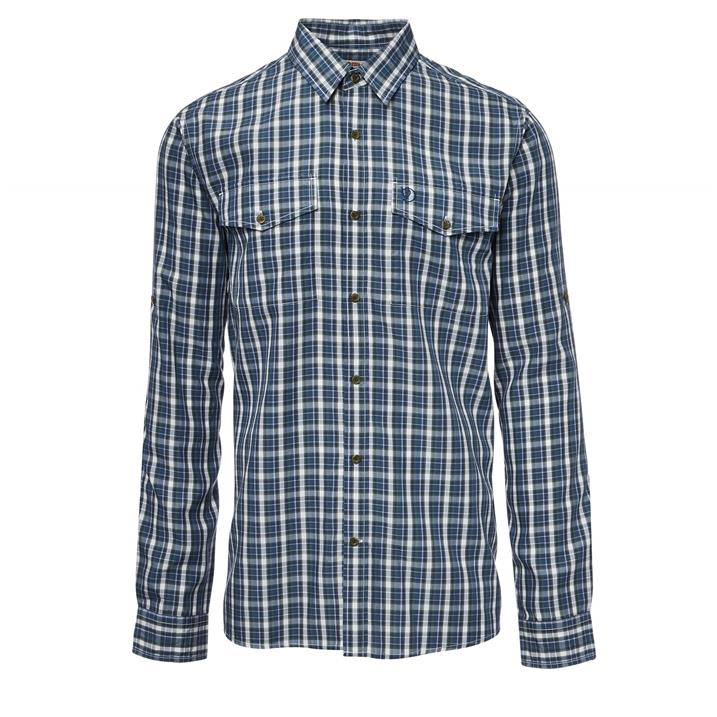 Fjäll Räven Abisko Cool Shirt SS M uncle blue