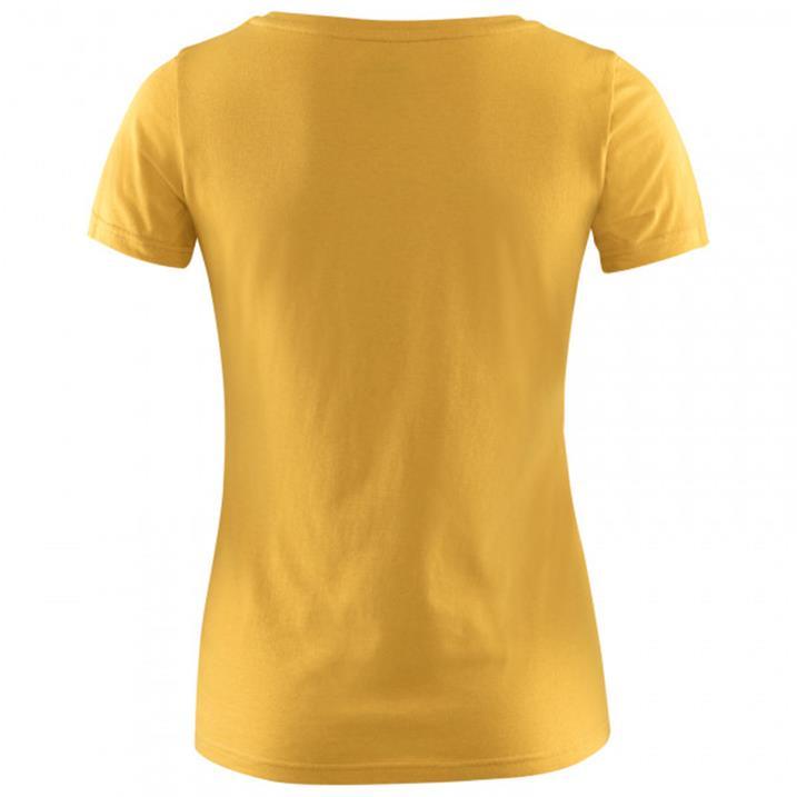 Fjäll Räven Logo T-Shirt W ochre