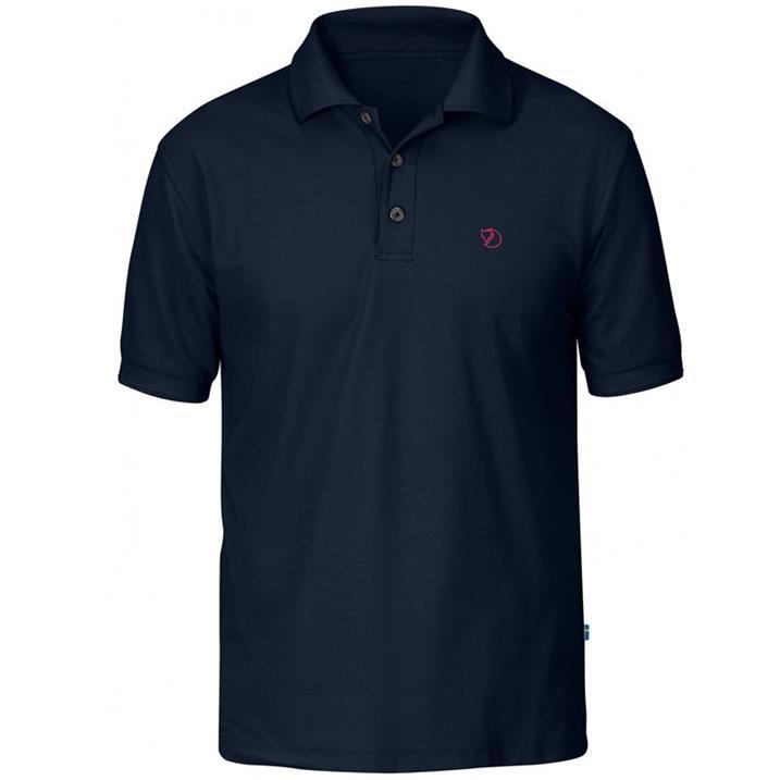 Fjäll Räven Crowley Pique Shirt M blueblack