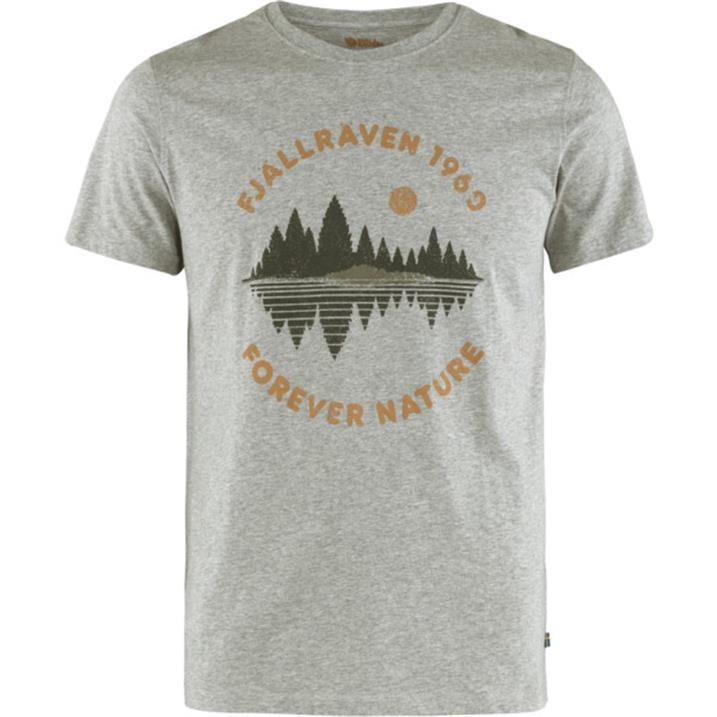 Fjäll Räven Forest Mirror T-Shirt M grey