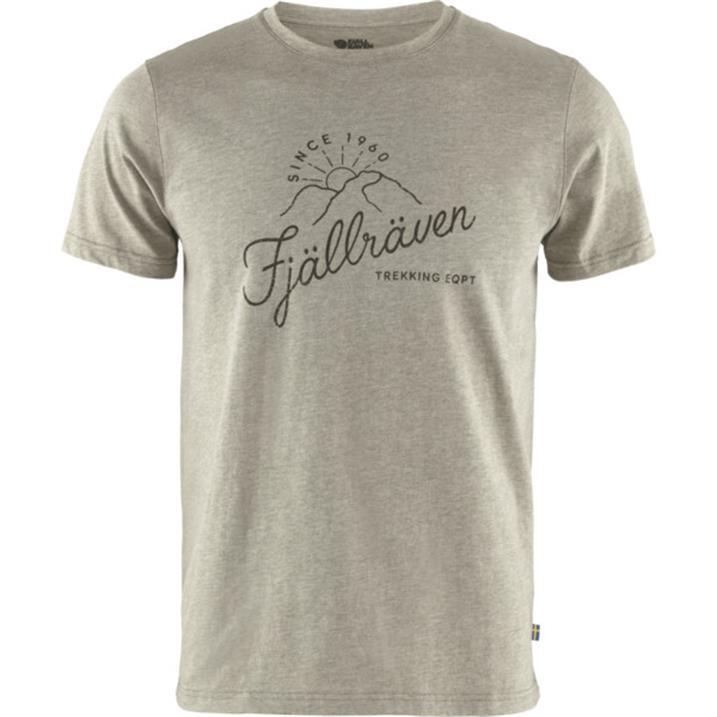 Fjäll Räven Sunrise T-Shirt M light olive melange