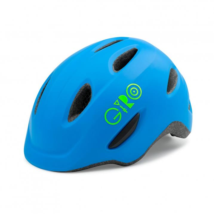 Giro Scamp, matte blue/lime - 2020