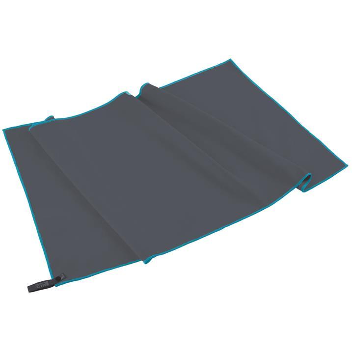 LACD Superlight Towel Microfiber Sporthandtuch in grau Microfaser