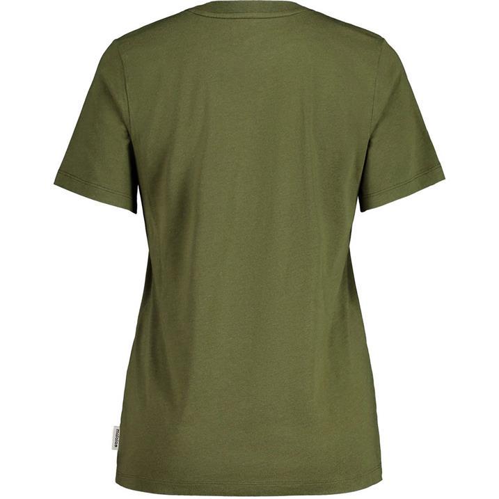Maloja Löwenzahn moss Damen T-Shirt