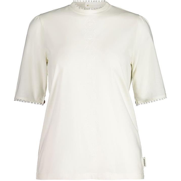 Maloja Mirabelle vintage white Damen 3/4 Shirt