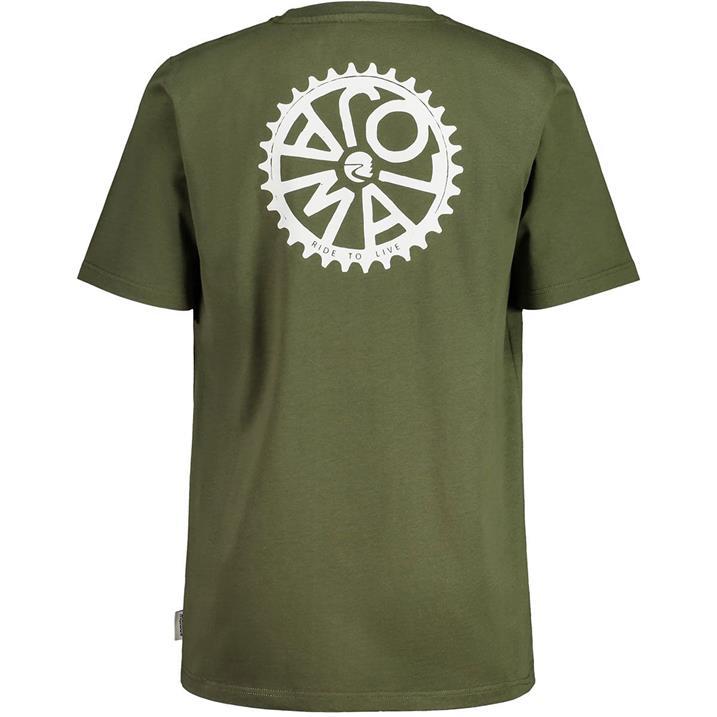 Maloja Holzapfel moss Herren T-Shirt