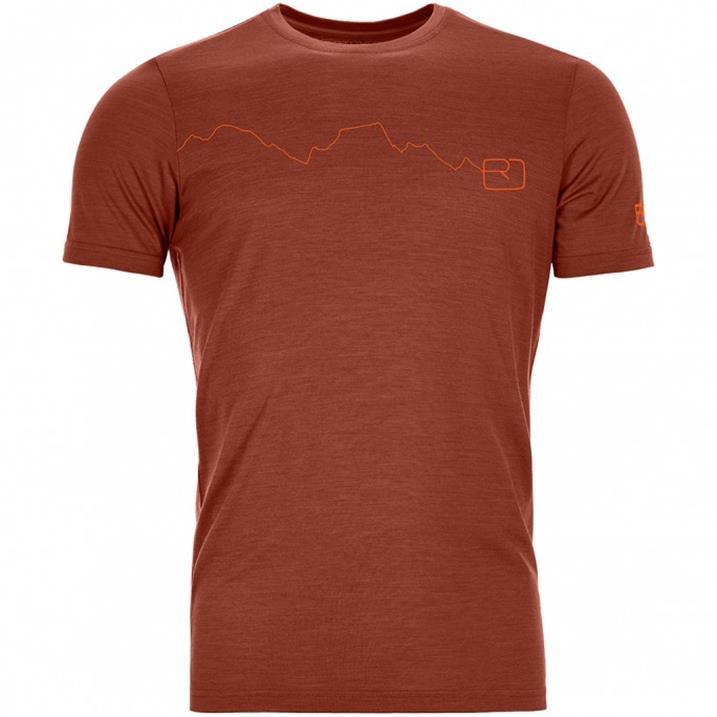 Ortovox 120 Tec Mountain clay orange Herren T-Shirt