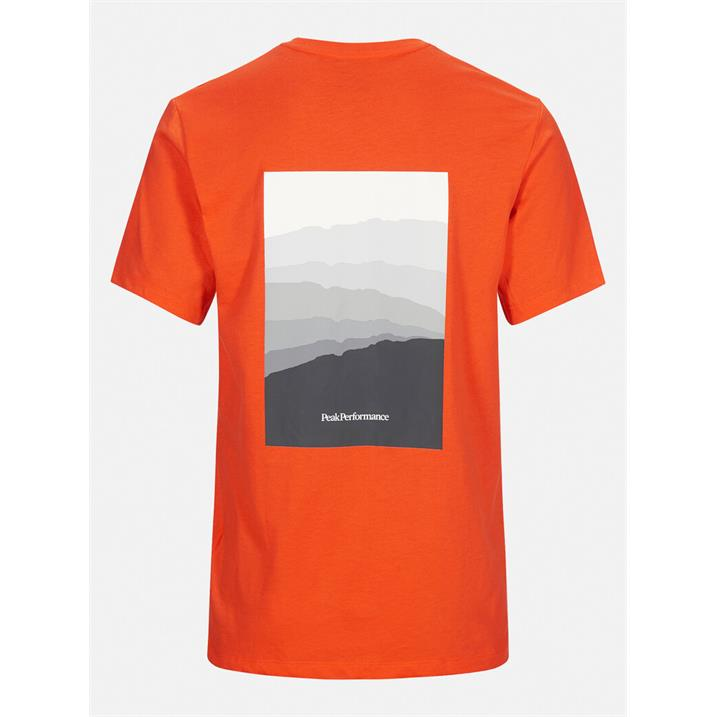 Peak Performance Explore Horizon Tee super nova Herren T-Shirt