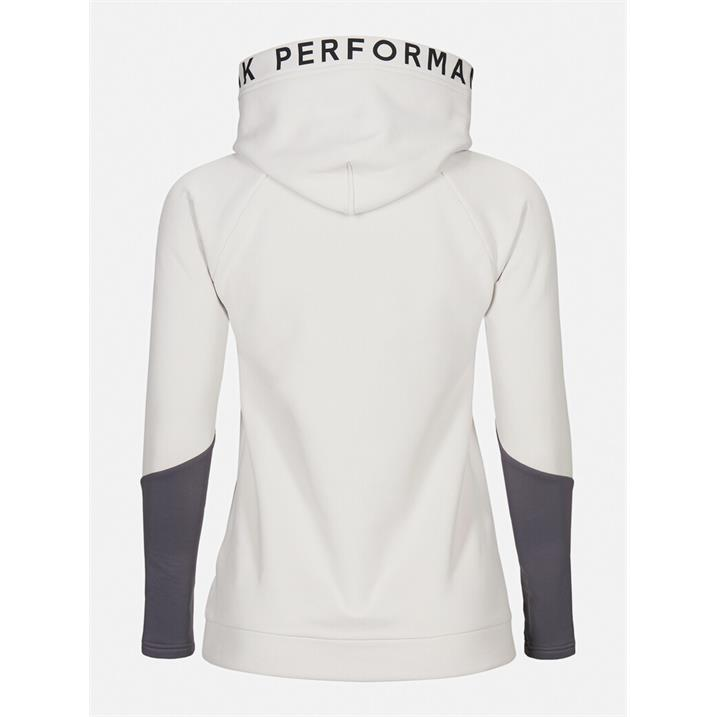 Peak Performance Rider Hood antarctica deep earth Damen Sweatshirt