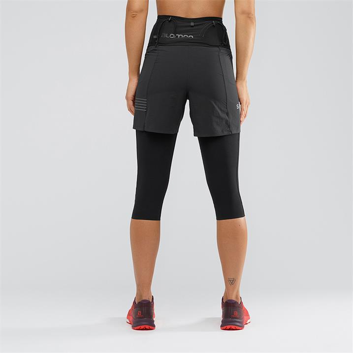 Salomon - S/Lab Short W, Black