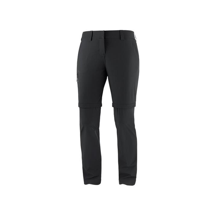 Salomon Wayfarer Zip Pant black Damen Trekkinghose