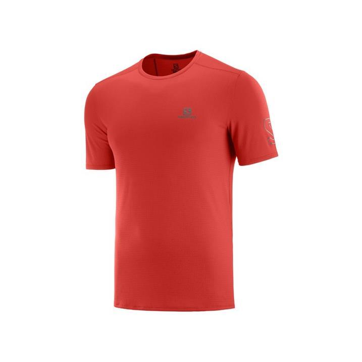 Salomon XA Trail Tee goji berry Herren T-Shirt