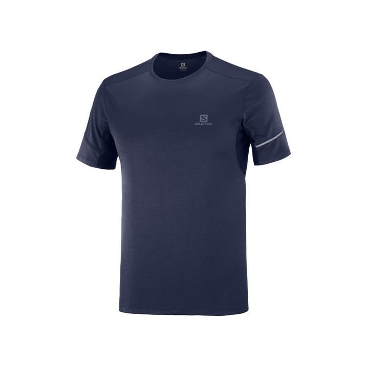 Salomon Agile SS Tee night sky Herren T-Shirt