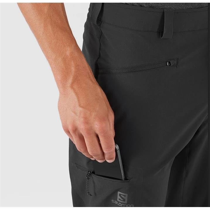 Salomon Wayfarer Straight Pant Short black Herren Trekkinghose
