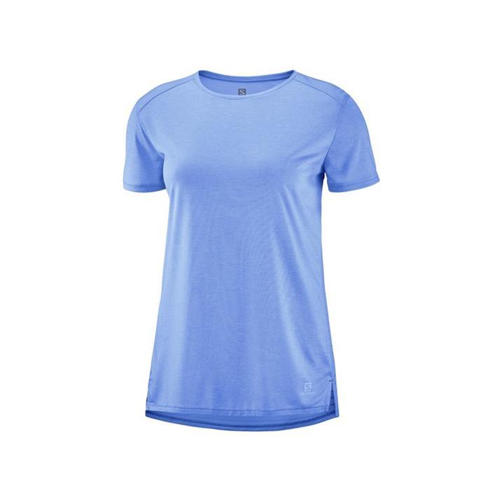 Salomon Outline Summer Tee marina Damen T-Shirt