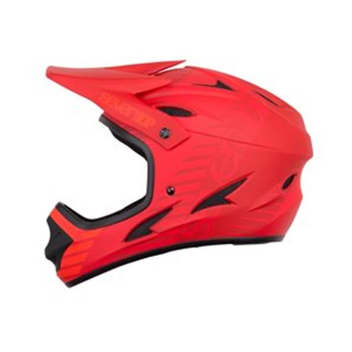 Seven 7 Protection 7iDP M1 Tactic Helmet, red