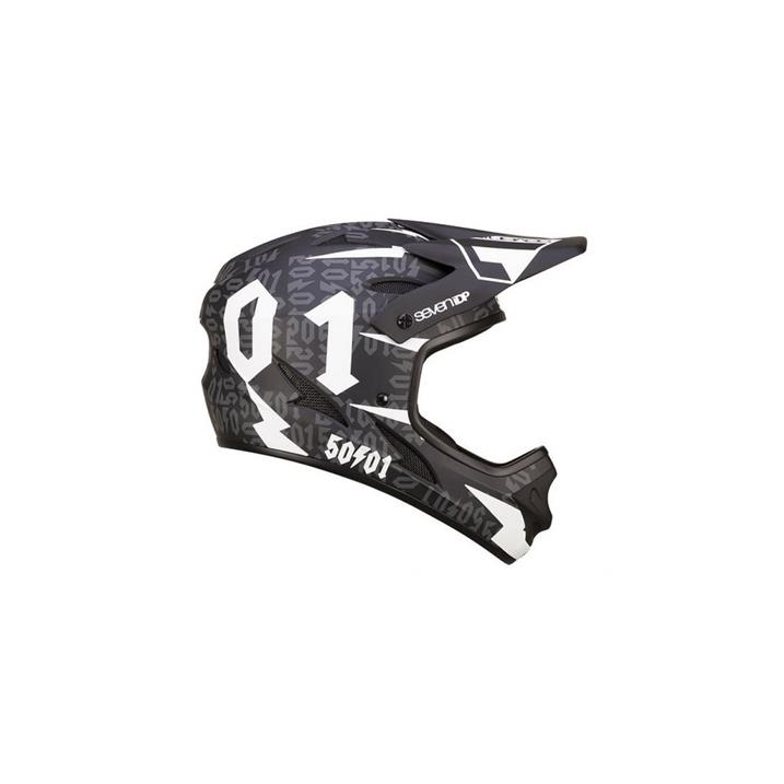 Seven 7 Protection 7iDP M1 50:01 Helmet, black white
