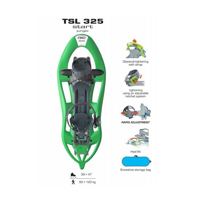 TSL 325 Start jungle + Hiking Alu 3 Classic 2021 2022