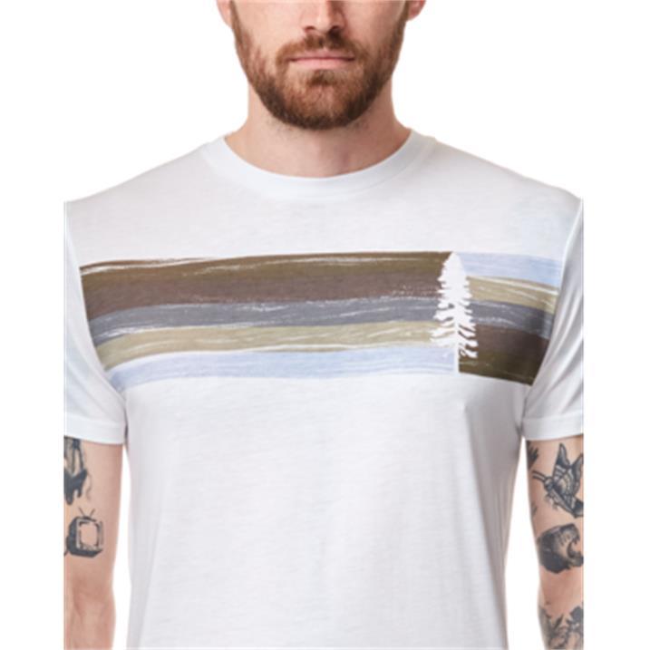 TenTree Spruce Stripe M white