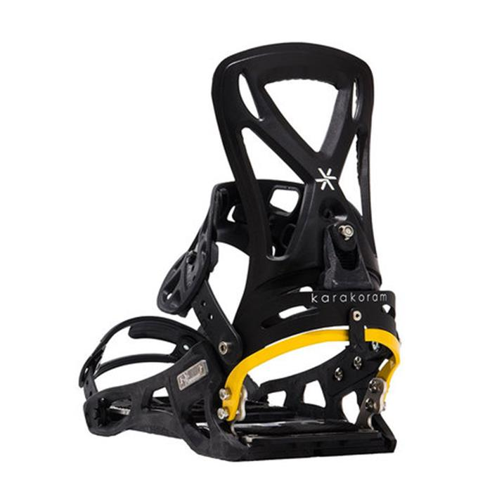 Karakoram Prime Connect S Splitboardbindung - black yellow